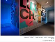 CORRIDOR MURAL / OVOLO HOTEL / WONG CHUK HANG 2014