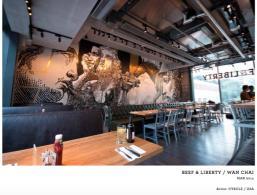 BEEF & LIBERTY / WAN CHAI 2014